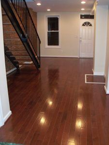 Complete home Remodeling in Federal Hill Baltimore First floor hard woods
