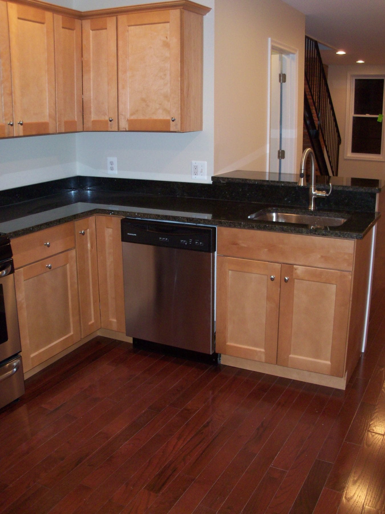 complete home remodeling in federal hill baltimore kitchen cabinets and granite - Kitchen Cabinets Baltimore