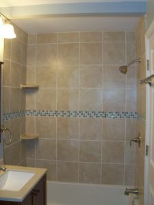 Complete home Remodeling in Federal Hill Baltimore second floor Bathroom shower