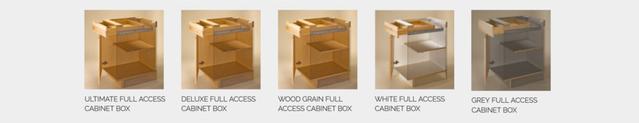 Full Access Cabinet Boxes