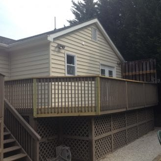 Home addition in Towson MD COMPLETED SIDING