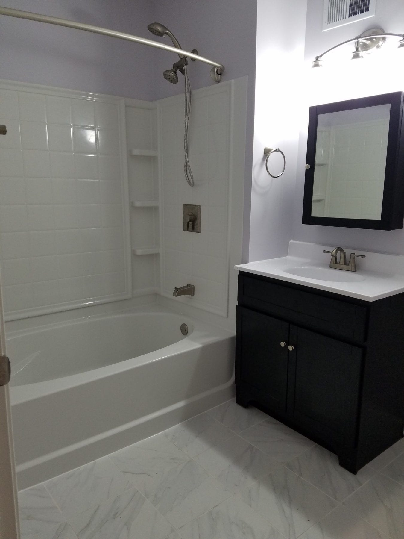 Small Bath Renovation Baltimore MD TradeMark Construction - Bathroom remodeling baltimore