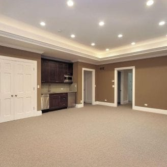Basement Remodeling Baltimore Model Interior baltimore basement finishing construction project from trademark
