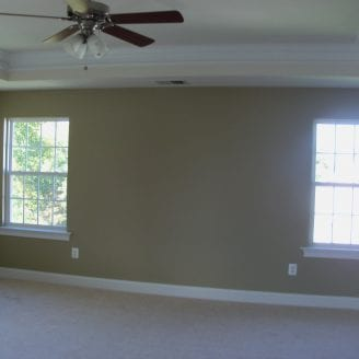 Master suite painting in Columbia MD