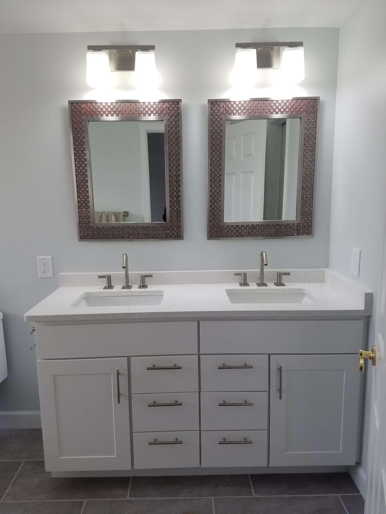 Federal Hill Bath Remodel TradeMark Construction - Bathroom showrooms baltimore