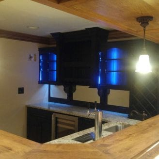basement-bar-remodeling-wood-top