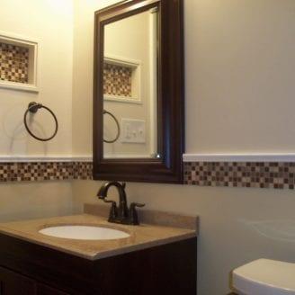 Complete bath Remodeling in Parkville