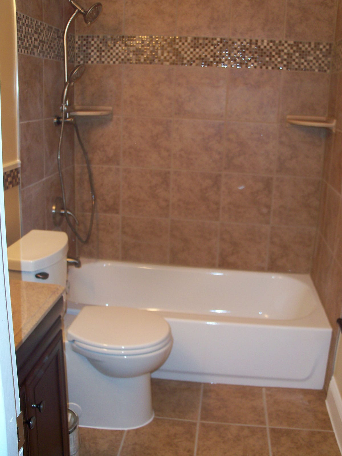 Bath remodel in nottingham trademark construction for Complete bathroom remodel