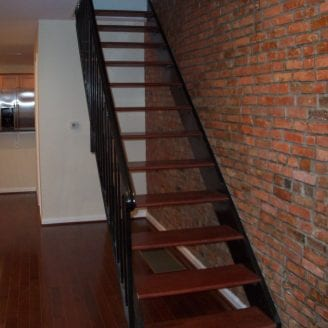 Custom Floated steps Home remodeling In Federal Hill Baltimore