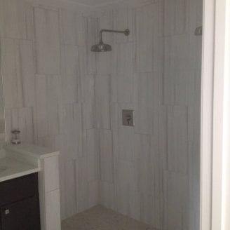 Master bath extension addition in Towson MD