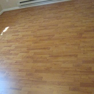 Basement Laminated Floor In Baltimore