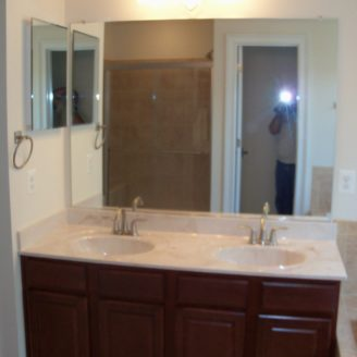 Double Vanity Bath remodel in Ellicot city MD
