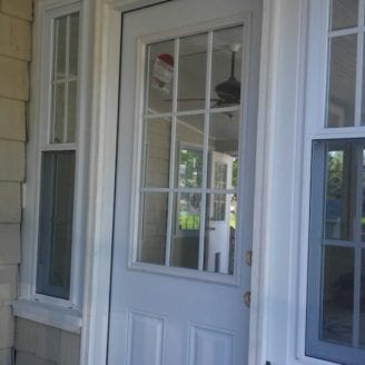 Door installation Sunroom Timonium MD By Trademark Construction LLC