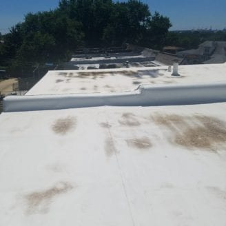 Flat roofs rubber roof installations in Baltimore city