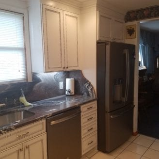 Kitchen remodel Trademark construction Baltimore MD