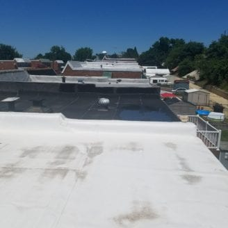 Pvc flat roof contractor in MD