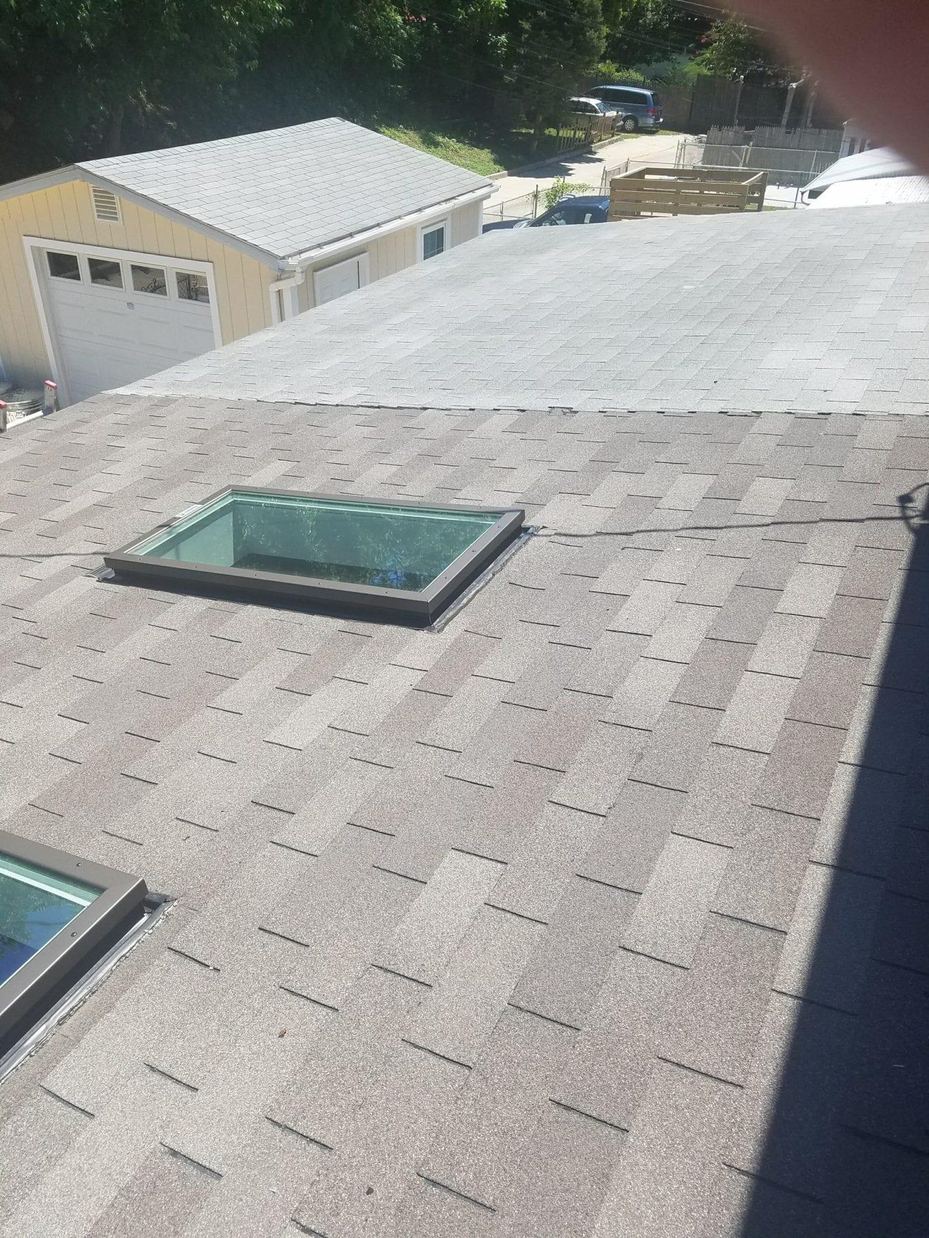 Asphalt Shingles Roofing Installation Trademark Construction