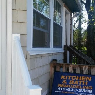 Stairs and windows installation Lutherville timonium by Trademark Construction LLC