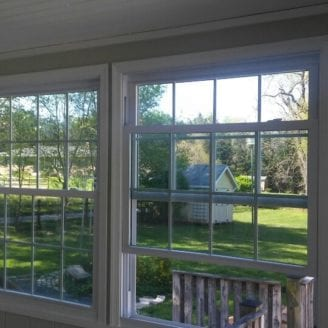 Vinyl windows installation Lutherville timonium MD