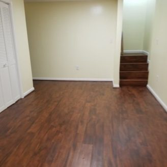 Basement finishing flooring