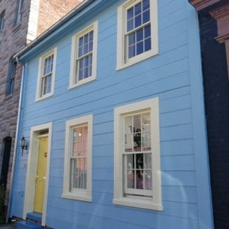 Exterior historic painting Baltimore
