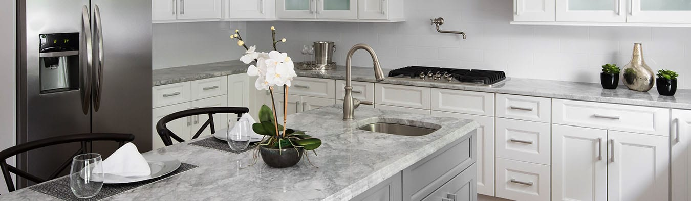 granite counter tops or quartz