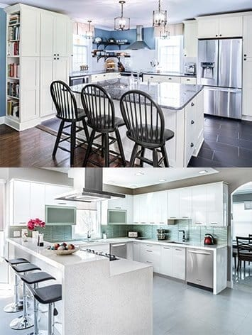 Kitchen cabinets and kitchen remodeling contractor