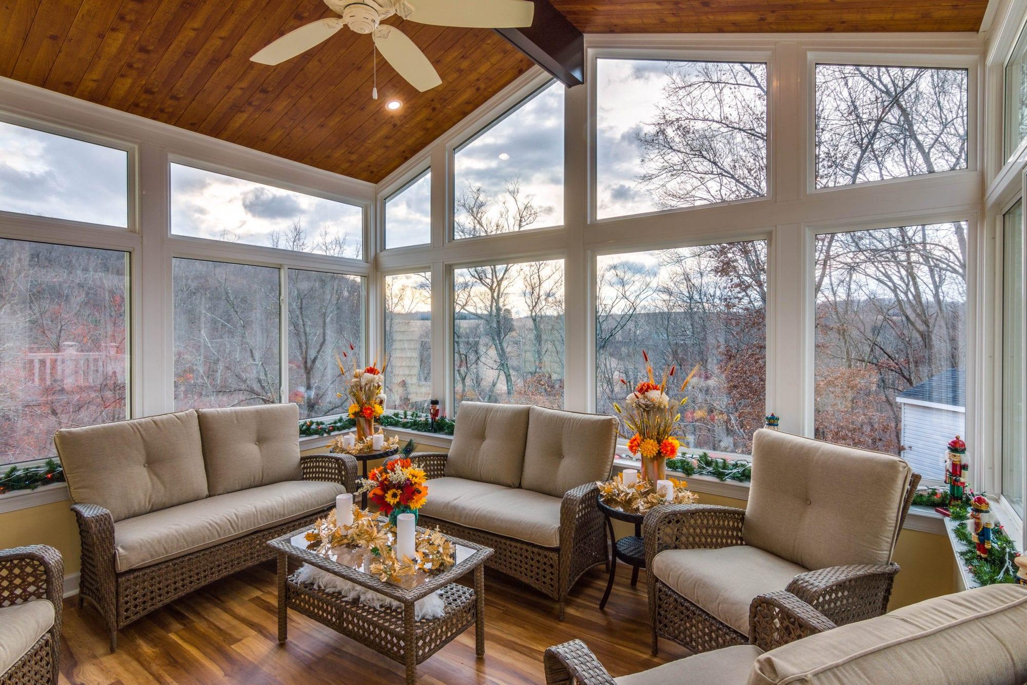 Elegant Living Space Sunroom Finksburg, ...