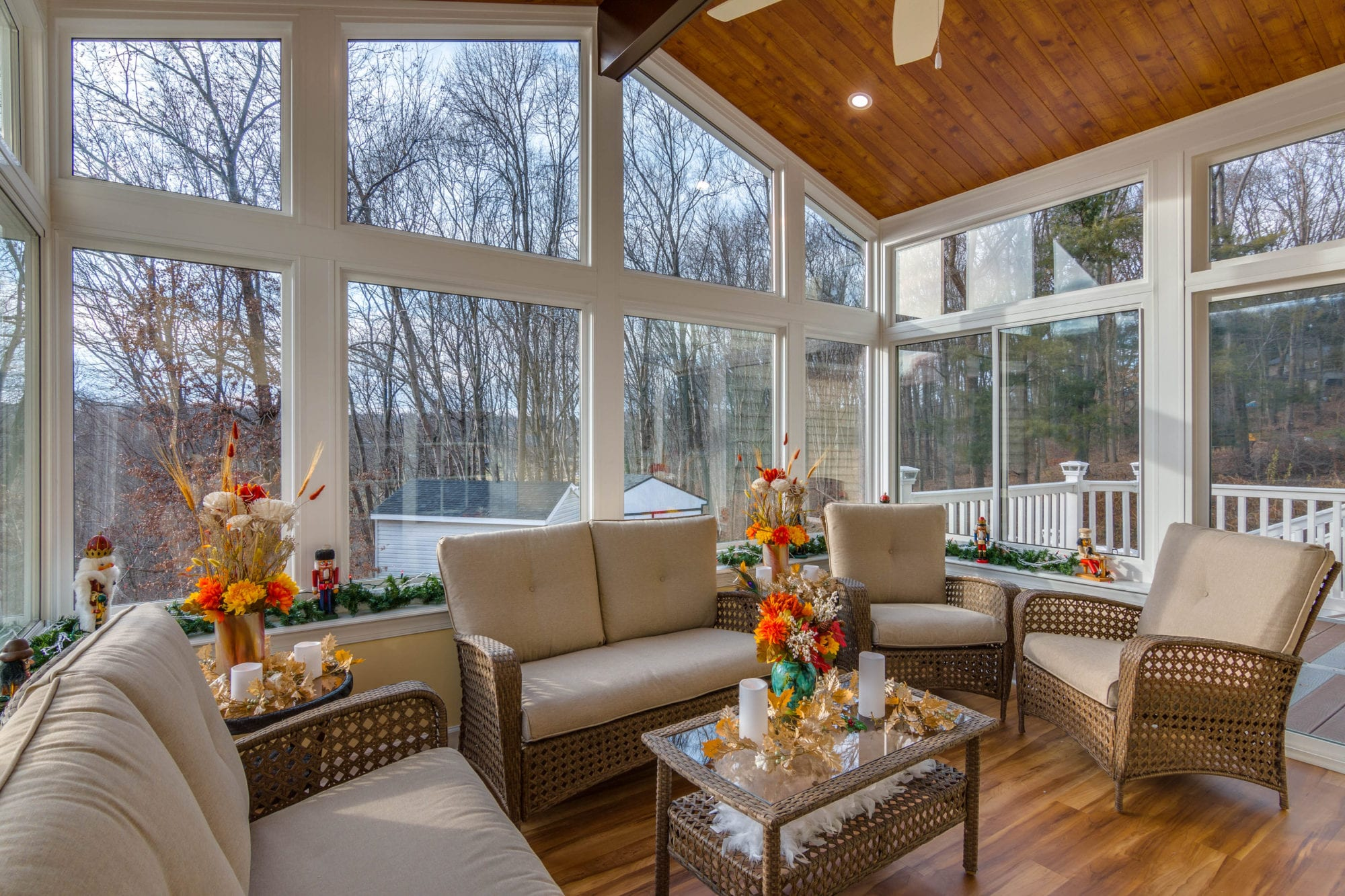 Living Space Sunrooms and Patio Enclosures in Maryland on Living Room Deck id=80685