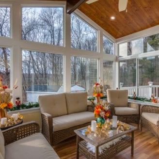 Sunroom patio enclosure