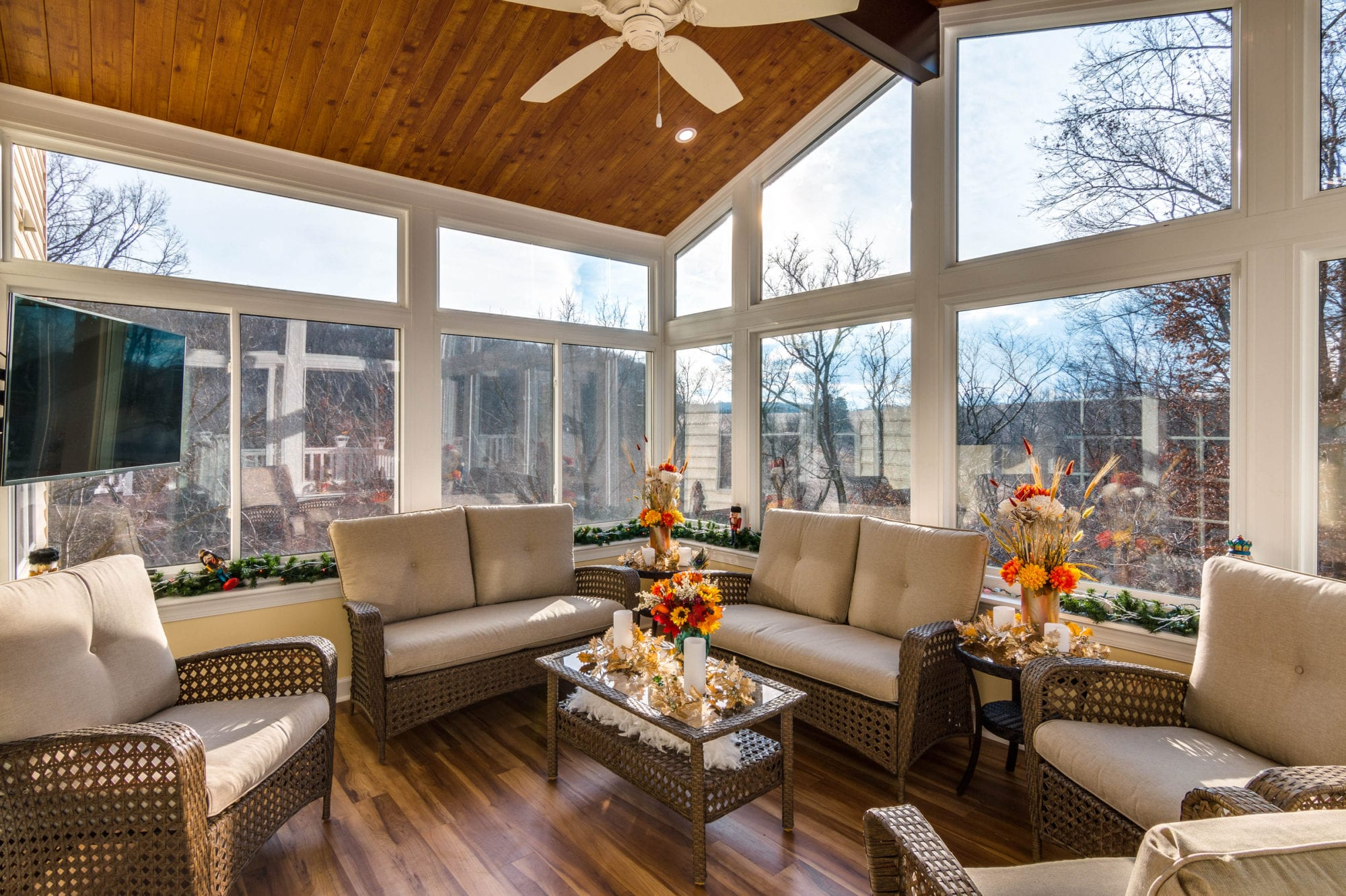 Exceptional Living Space Sunrooms And Patio Enclosures ...