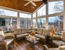 Living Space Sunrooms and patio enclosures