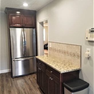 Extra counter space for kitchen remodel