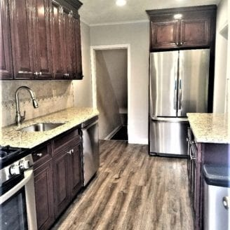 Small kitchen remodel in Baltimore city