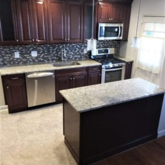 Baltimore City Small Kitchen Remodel