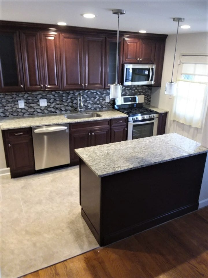Baltimore City Small Kitchen Remodel Trademark Construction