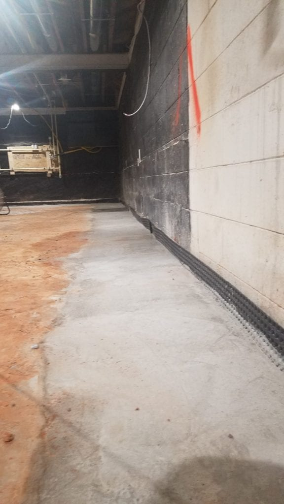 French Drain and Basement Waterproofing