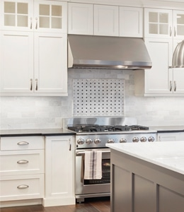 White kitchen Remodeling Maryland