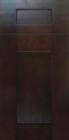 espresso door cabinets