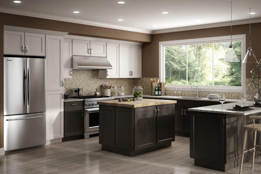 kitchen cabinets combination