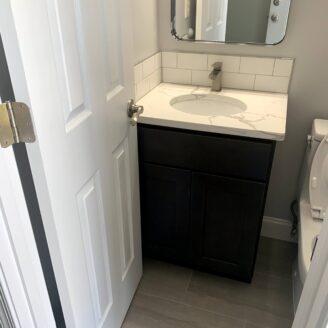 Bath remodeling