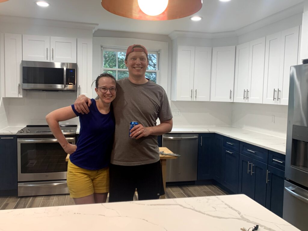 Kitchen remodeling Happy Clients Trademark construction