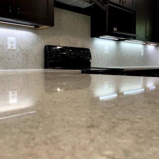 Full back splash kitchen renovation